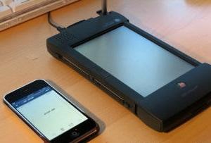 Первые сенсорные экраны