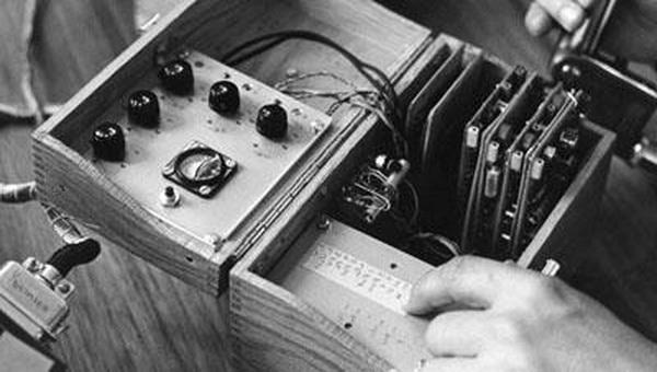 Первый аппарат для распознавания речи