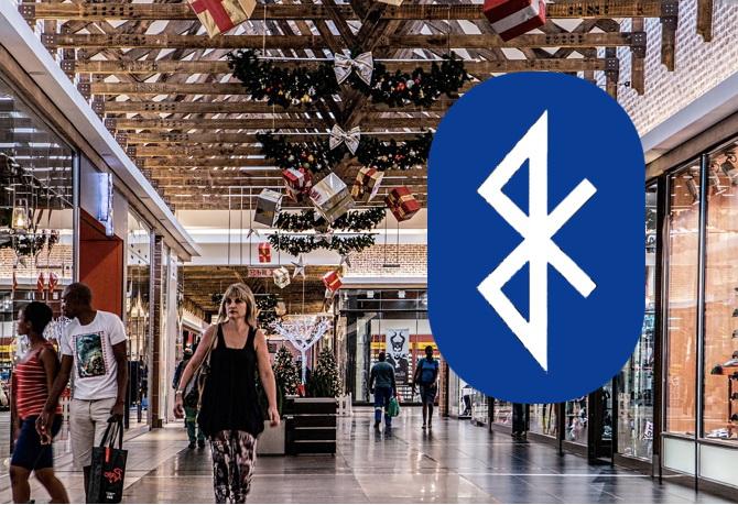 Bluetooth в торговом центре