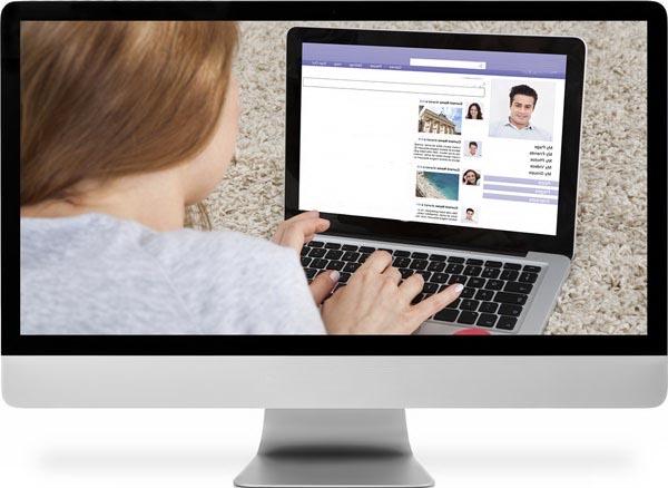 Использование компьютеров для знакомства