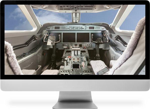 Использование компьютеров для пилотирования