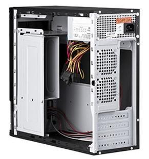 Открытый корпус компьютера