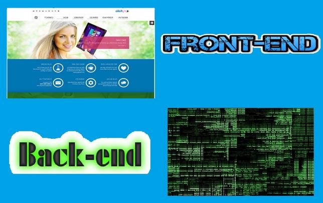 Front-end и Back-end разработка